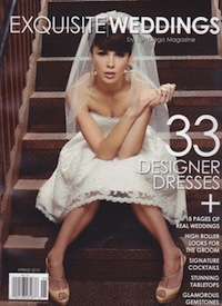 Exquisite Weddings_Spring 2010_cover
